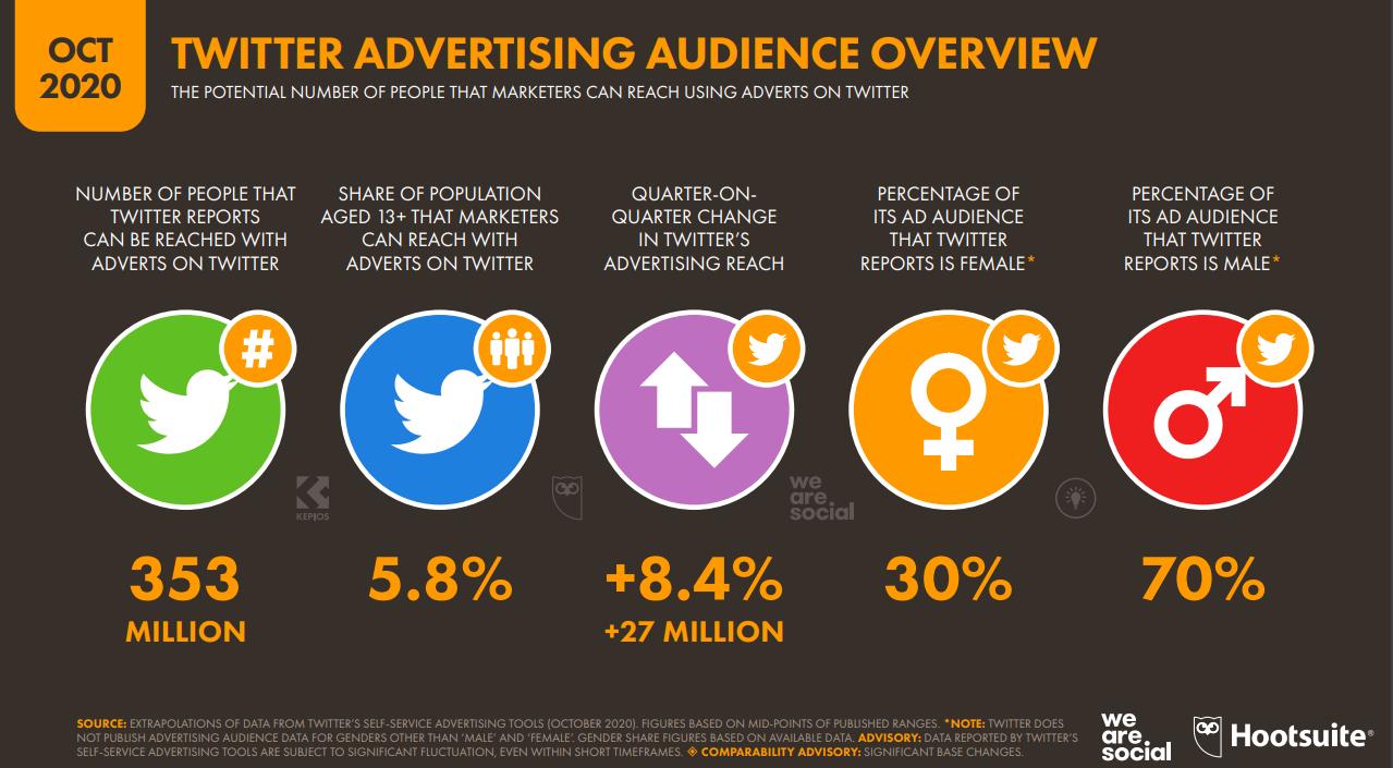 Twitter Audience Pubblicitaria